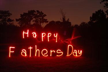 祝我父親節快樂。父親節小典故