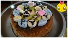 小妞生日快樂。不成功自製大同電鍋蛋糕,全紀錄。