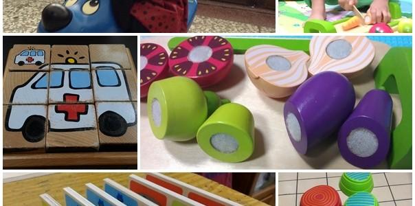 玩具分享- 1-2歲借的玩具們。台中市立英才婦幼館